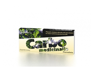 Carbo Medicinalis PharmaSwiss